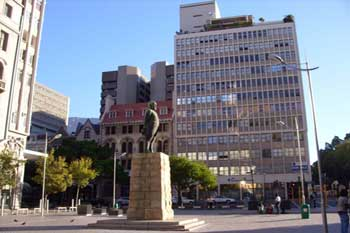 Church Square - Denkmal - Südafrika